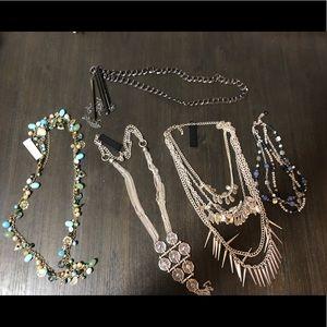 Premier Designs Necklace Lot of 5